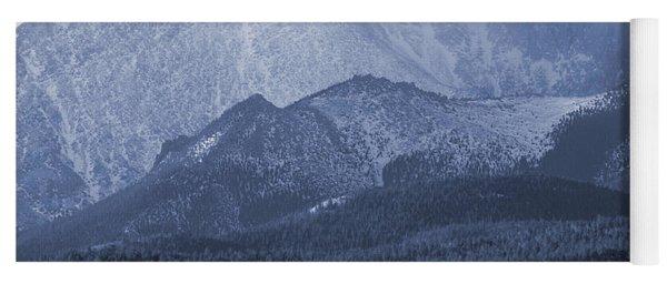 Stormy Peak Yoga Mat