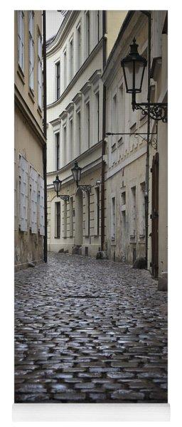 Street In Prague Yoga Mat