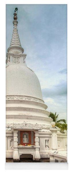 temple complex at the tropical island Sri Lanka Yoga Mat