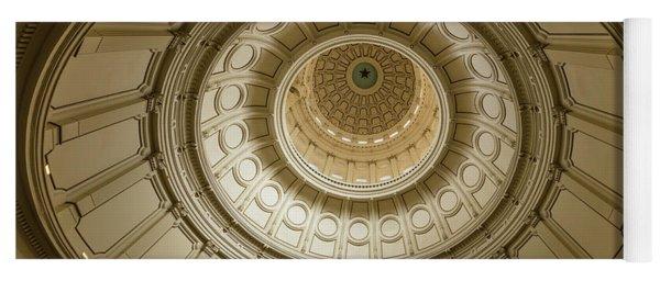 Texas State Capitol, Austin Texas - Yoga Mat