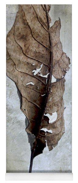 Textured Leaf Yoga Mat