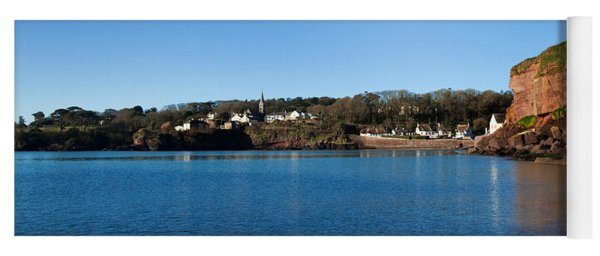 Thatched Cottages, Dunmore Strand Yoga Mat