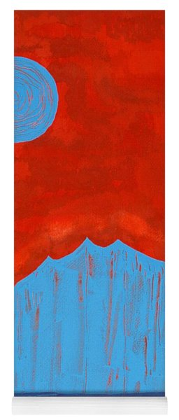 Tres Orejas Original Painting Yoga Mat