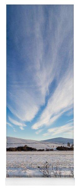 Under Wyoming Skies Yoga Mat