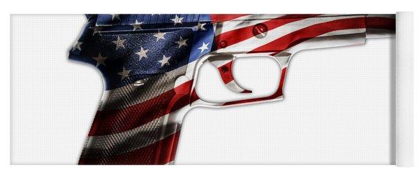 Usa Gun 1 Yoga Mat