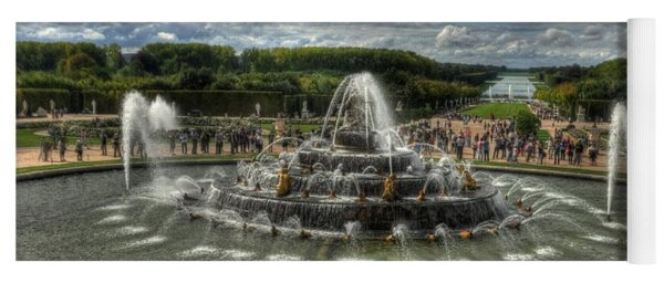 Versailles Fountain Yoga Mat