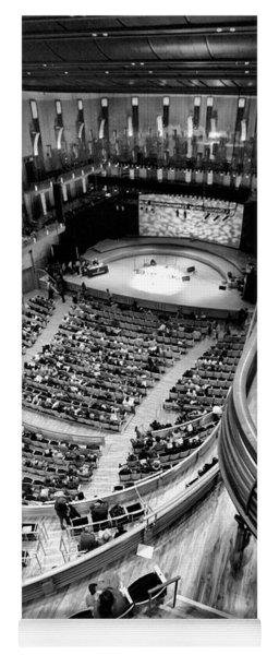 View From The Upper Balcony At Strathmore Music Center Yoga Mat