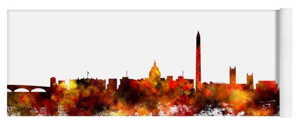 Washington Dc Skyline Yoga Mat