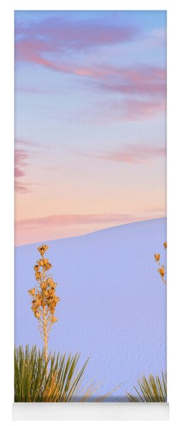 White Sands National Monument Yoga Mat