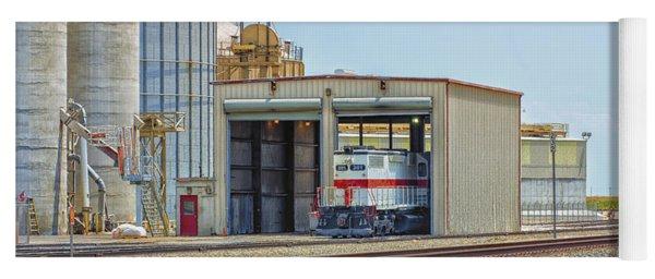Foster Farms Locomotives Yoga Mat