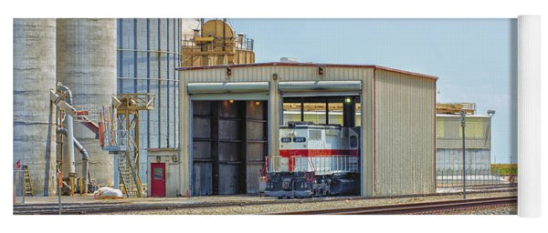 Foster Farms Locomotives Yoga Mat