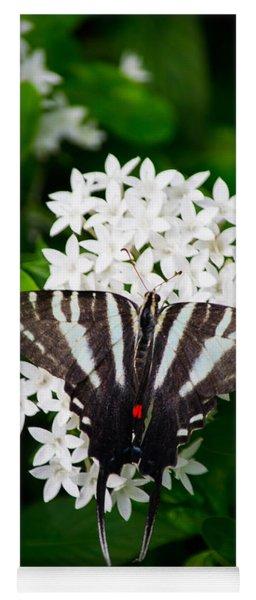 Zebra Swallowtail Yoga Mat