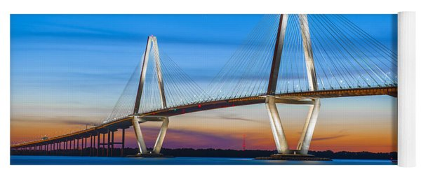 Charleston Arthur Ravenel Bridge Yoga Mat