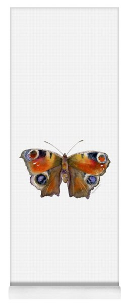 10 Peacock Butterfly Yoga Mat