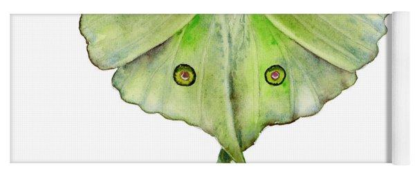 100 Luna Moth Yoga Mat