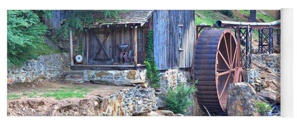 Sixes Mill On Dukes Creek - Square Yoga Mat