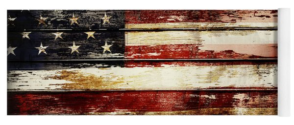 American Flag 33 Yoga Mat