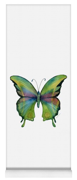 11 Prism Butterfly Yoga Mat