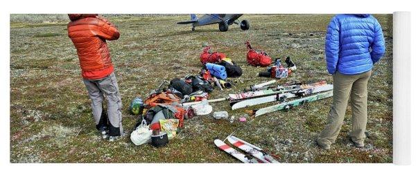 Alaska Ski Mountaineering Yoga Mat