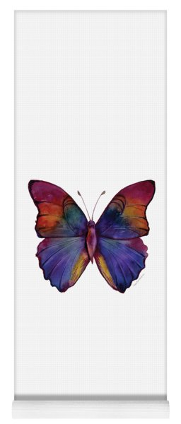 13 Narcissus Butterfly Yoga Mat