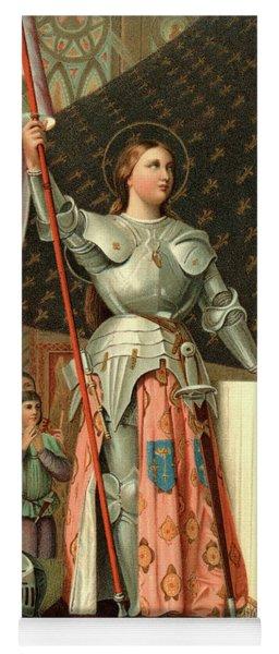 1400s July 17 1430 Joan Of Arc Yoga Mat