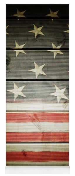 American Flag 58 Yoga Mat