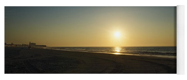 14th Street Beach At Sunrise - Ocean City New Jersey Yoga Mat