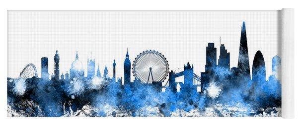London England Skyline Yoga Mat