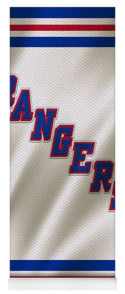 New York Rangers Yoga Mat