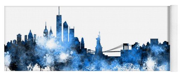 New York Skyline Yoga Mat