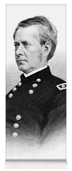 1800s 1860s Joseph Hooker Major General Yoga Mat