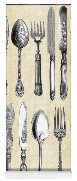 1851 London Silverware Yoga Mat