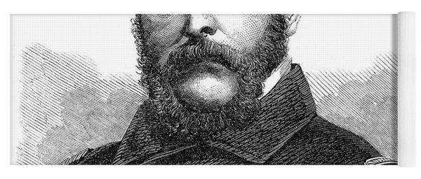 1860s Portrait Captain John A Winslow Yoga Mat