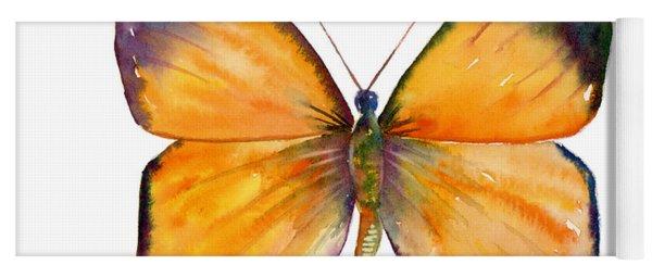19 Delias Anuna Butterfly Yoga Mat