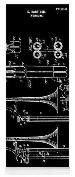 1901 Trombone Patent Yoga Mat