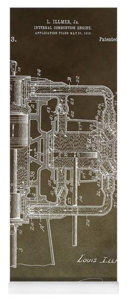 1914 Engine Patent Yoga Mat