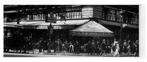 1920s Cafe De La Paix In The Grand Yoga Mat