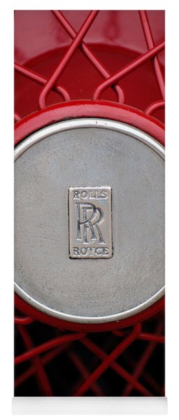 1928 Rolls-royce Phantom I Sedenca De Ville Wheel Emblem Yoga Mat
