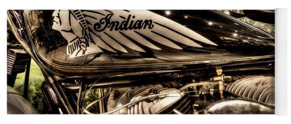 1934 Indian Chief Yoga Mat