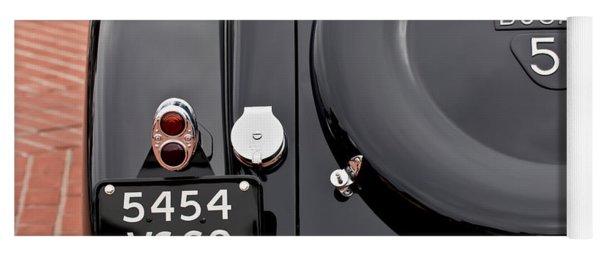 1937 Bugatti Type 57c Ventoux Yoga Mat