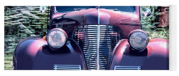 1939 Chevy Immenent Front Original Yoga Mat