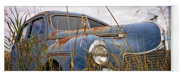 1940 Dodge 4 Door Luxury Liner Yoga Mat