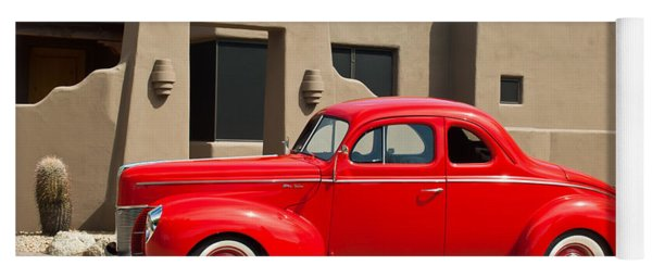 1940 Ford Deluxe Coupe Yoga Mat