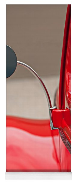 1940 Ford Deluxe Coupe Rear View Mirror Yoga Mat