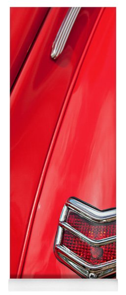 1940 Ford Deluxe Coupe Taillight Yoga Mat