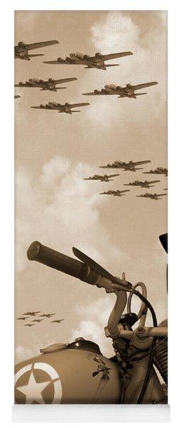 1942 Indian 841 - B-17 Flying Fortress' Yoga Mat