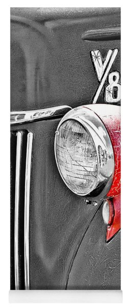 1944 Ford Pickup - Headlight - Sc Yoga Mat