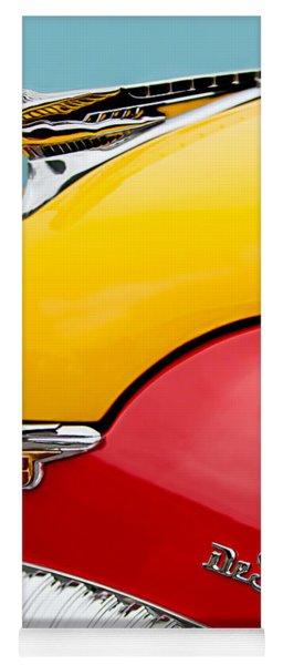 1946 Desoto Skyview Taxi Cab Hood Ornament Yoga Mat