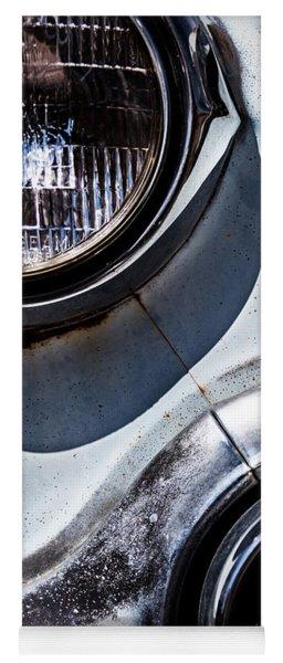 1953 Chevy Headlight Detail Yoga Mat