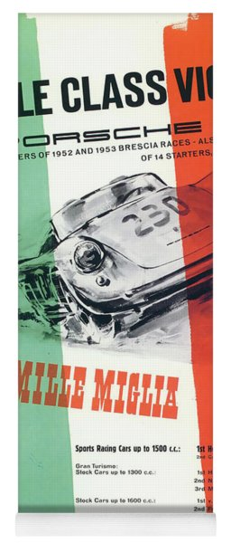 1954 Xxi Mille Miglia Yoga Mat